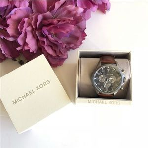 Micheal Kors Men's Leather Watch